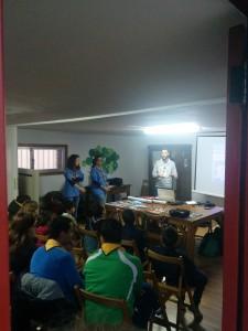 Presentación do Grupo Scout Tesela 922