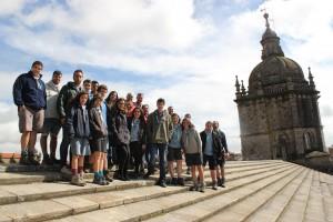 visita os tellados da Catedral